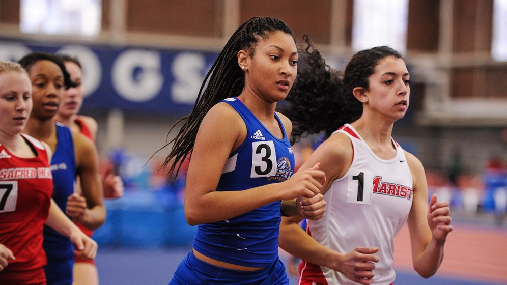 Women's Track and Field Continues Indoor Season at David Hemery Valentine Invitational